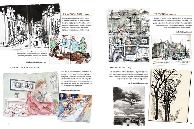 Ls Magazine Issue 8 http://www.flickr.com/photos/urbansketchers/4041058733/