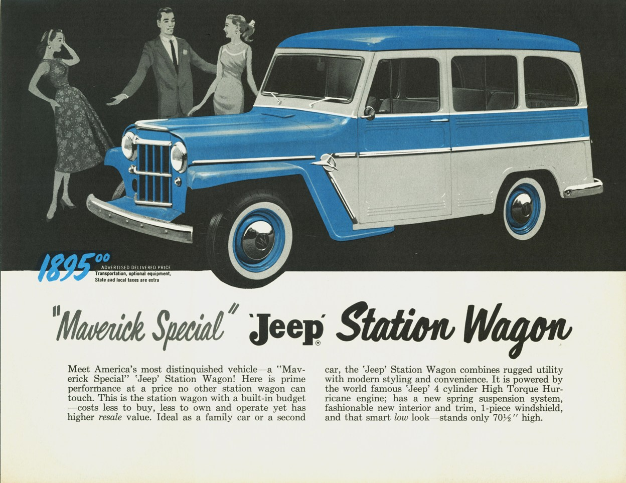 1958 Willys Jeep Wagon http://flickriver.com/photos/autohistorian/4116322161/