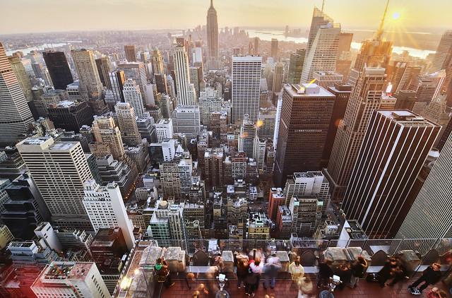 observation deck, new york city