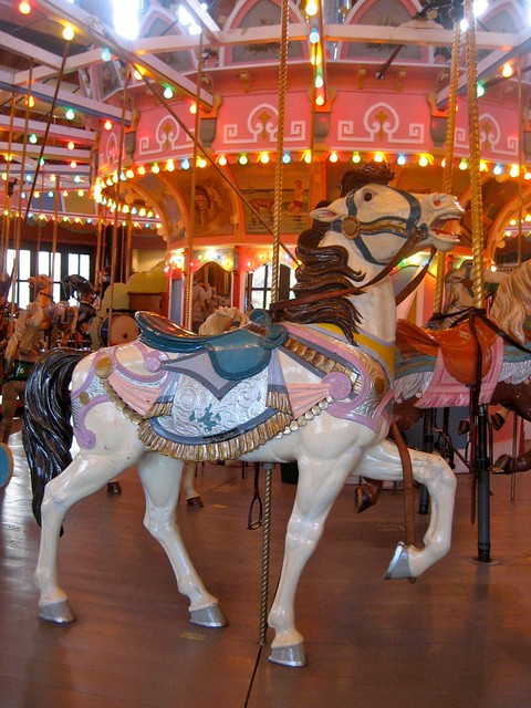 Holyoke Merry Go Round Horse | Flickr - Photo Sharing!