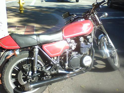 1978 Yamaha XS750 - San Luis Obispo, Nov 25, 2009