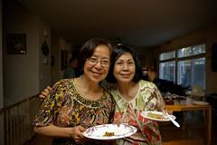 Mrs. Young and Mrs. Kitsuda