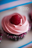 Raspberry Beret Cupcake