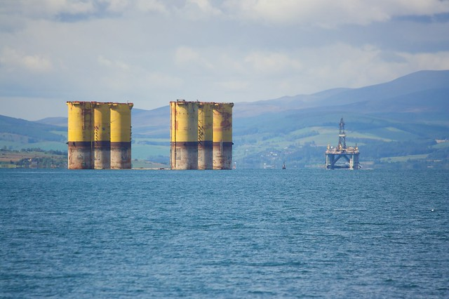 The Hutton hull in the Cromarty Firth