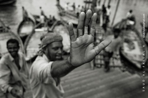 Boatman of Shadarghat [ Buriganga , Dhaka, Bangladesh]