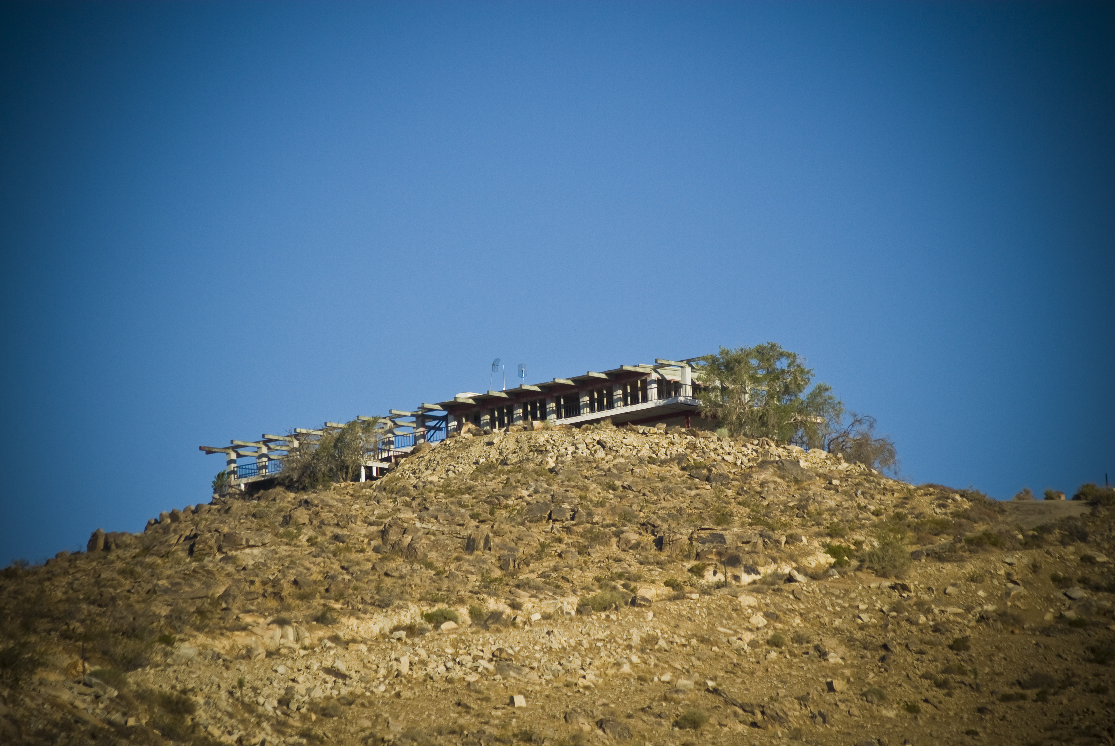 Apple valley inn abandoned house on the hill in apple - Swimming pool contractors apple valley ca ...