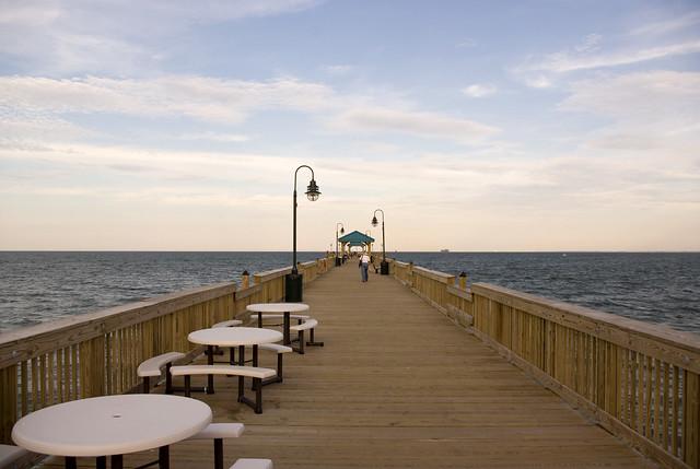 Buckroe pier a gallery on flickr for Buckroe beach fishing pier