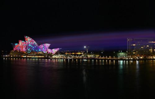 Sydney Opera House - Iluminated for Vivid Sydney 2009