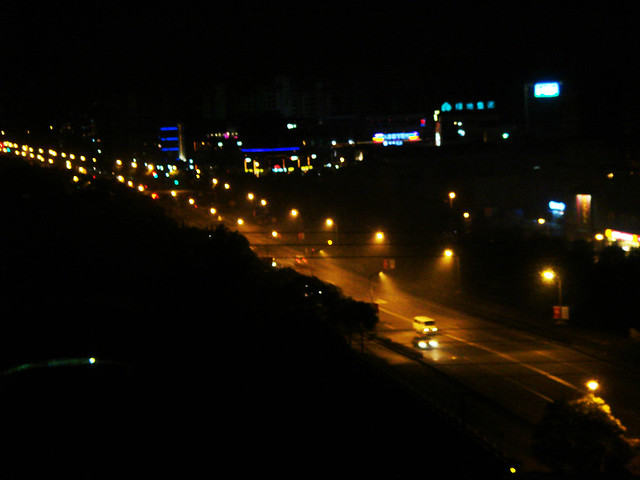 street lights at night | Flickr - Photo Sharing!