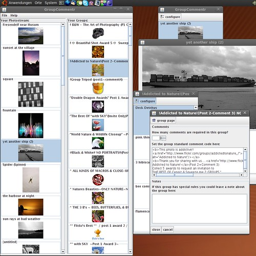 Screenshot GroupCommentr-1.0-alpha2 by dittma_d