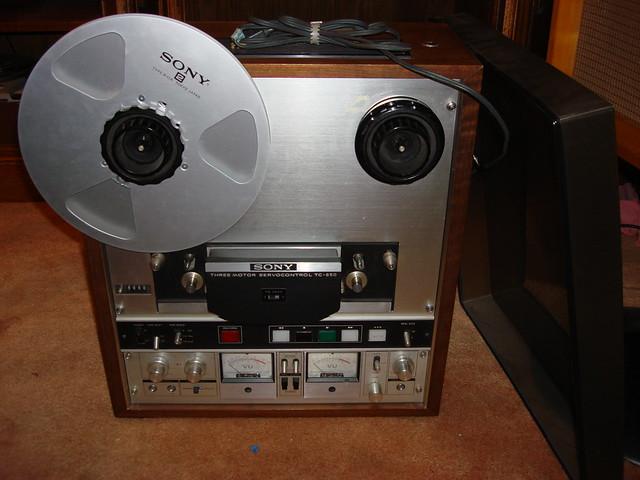 7 reel to reel tape player