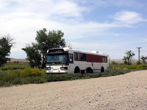 20090830 57 A M General Bus, Lysite, Wyoming