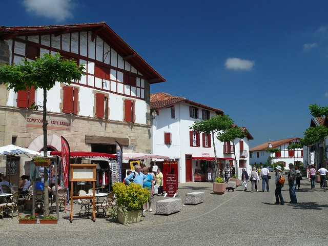 Espelette, Basque village