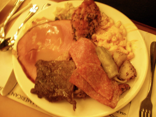 thanksgiving buffets