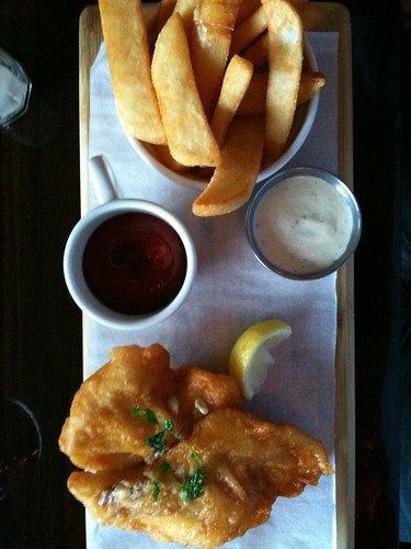 Fish and chips by Salim Virji