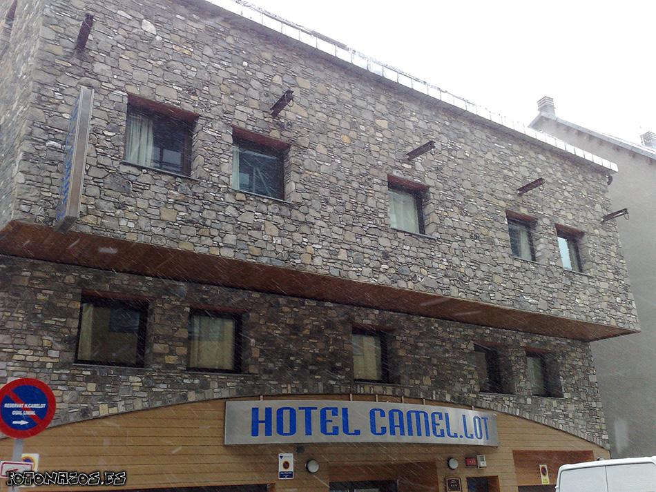 Temporal de viento nieve y fr o en el d a 3 en pas de la casa - Hotel camelot pas de la casa ...