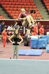 TWU Gymnastics [Floor] Amy Winczura
