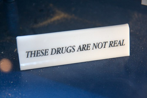 These drugs are not real