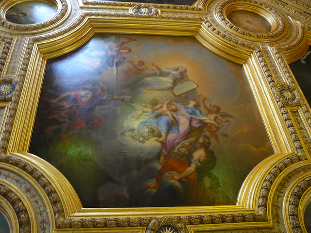 Plafond Peint Parlement De Bretagne Rennes 5 Flickr