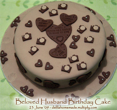 Birthday Cake Pictures For A Husband : Beloved Husband Birthday Cake Explore delilacake s ...