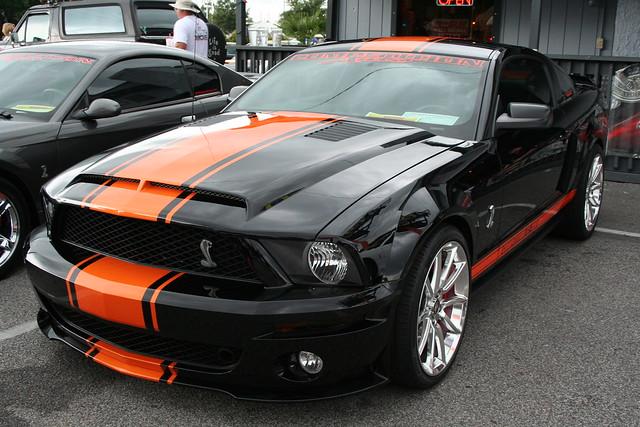 Black/orange Mustang Cobra GT500 | Flickr - Photo Sharing!