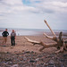 Richard, Dad and driftwood