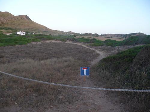 open dead end