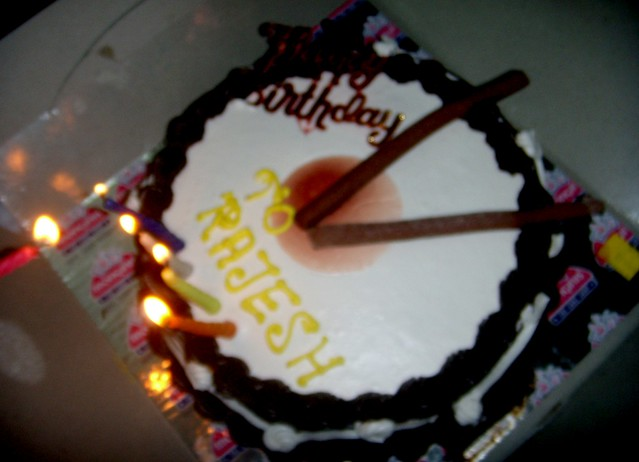 Birthday Kajal Name Cake Images : Birthday Cake of Rajesh Rana(My) Flickr - Photo Sharing!