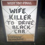 Wife Killer To Drive Black Cab