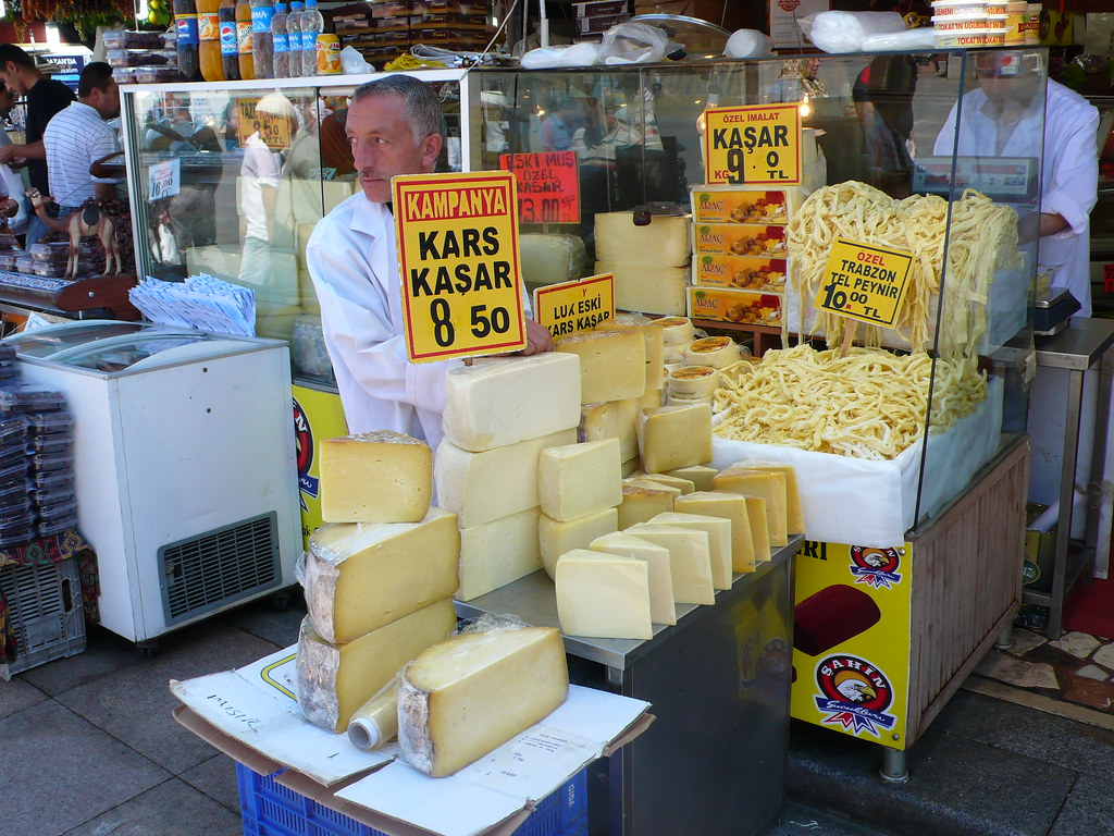 Selection of Harder Cheese
