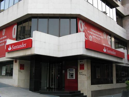 Una oficina del Santander