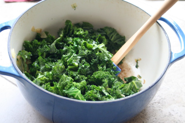 Braised Kale with Spaghetti | Flickr - Photo Sharing!
