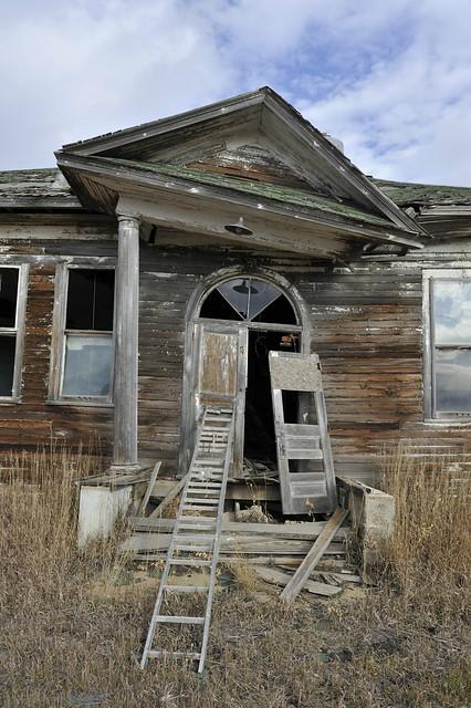 Abandoned School House Gascoyne North Dakota Flickr