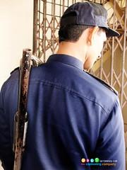 Security guard at Virtual University, Multan Campus