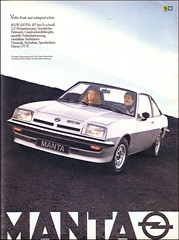 Opel Manta GT/E, Magazine Ad / Zeitschriftenanzeige, AMS 1979 (04)