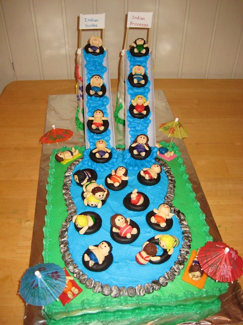 Cake Design Pool Party : photo