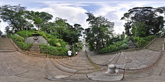 Ikegami Honmon-ji Temple: Stone Stairway