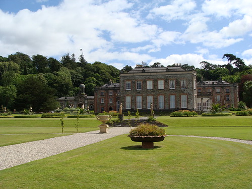 Bantry House's north gardens