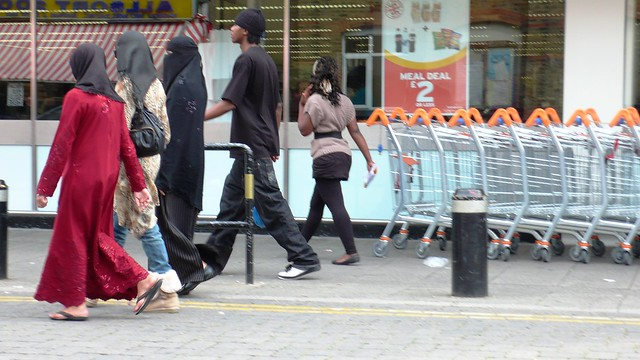 Local Colour at East Ham Market
