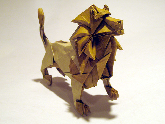Joseph Wu's Origami - Lion (take 2) | Flickr - Photo Sharing!