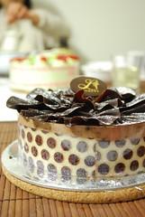 Chocolate Mousse and Hazlenut Praline Cake - Laurent, Camberwell - artsy