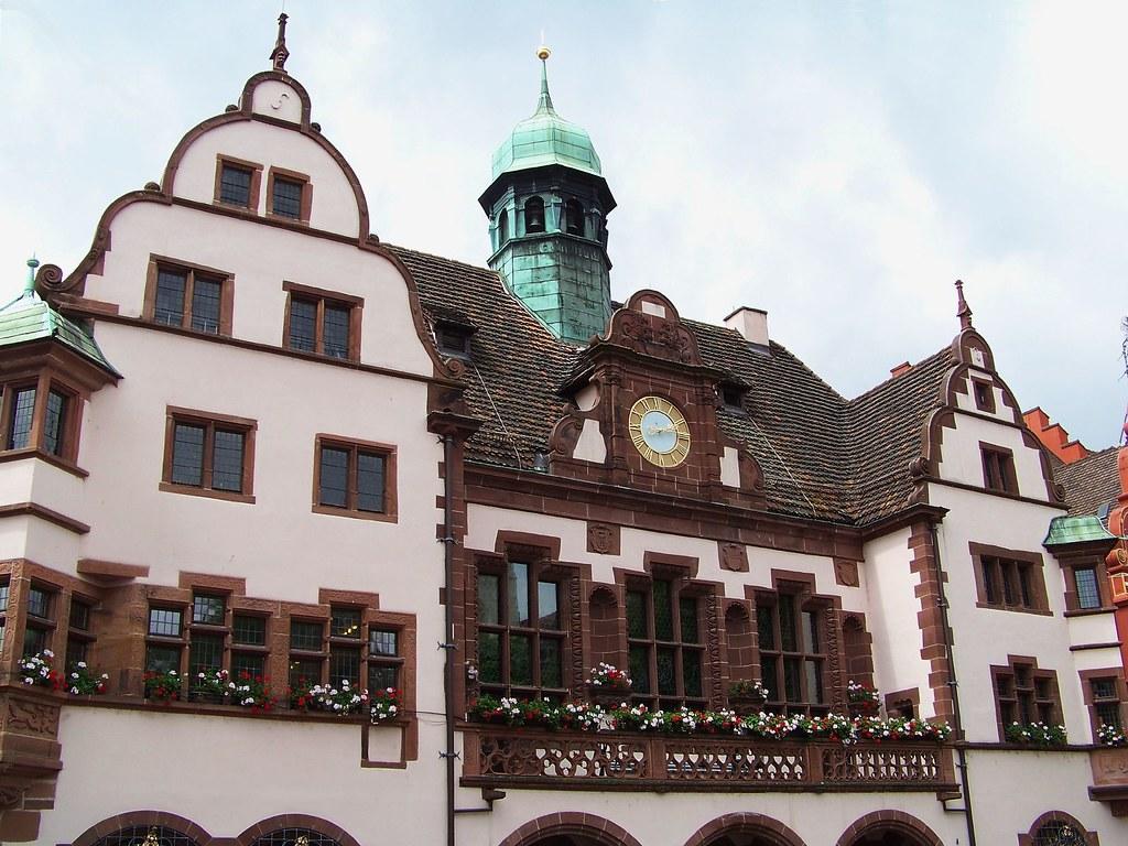 Rathaus Freiburg im Breisgau - Municipio di Friburgo in Brisgovia