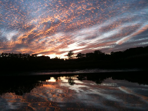 sunset reflection water clouds newjersey gallery13 iphone3gs asburyparkgallery13