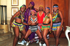 DSCF0199 Umoja Zulu Dancers The Spirit of Africa World Tour South African Musical Show Cast Party Mayfair Night Club London with Andile