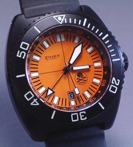 Looking for a new orange dive watch not doxa or monster - Orange dive watch ...