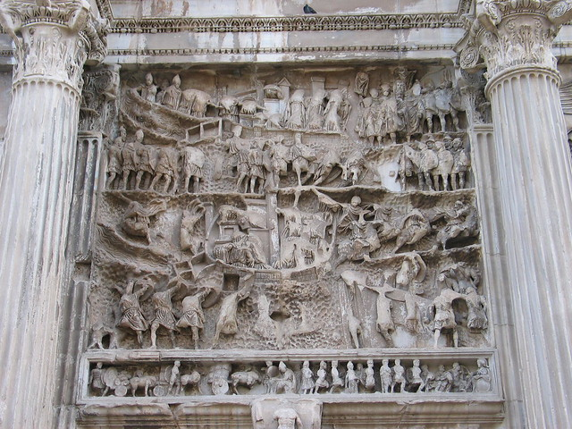 Arch of Septimius Severus:panel | Flickr - Photo Sharing!