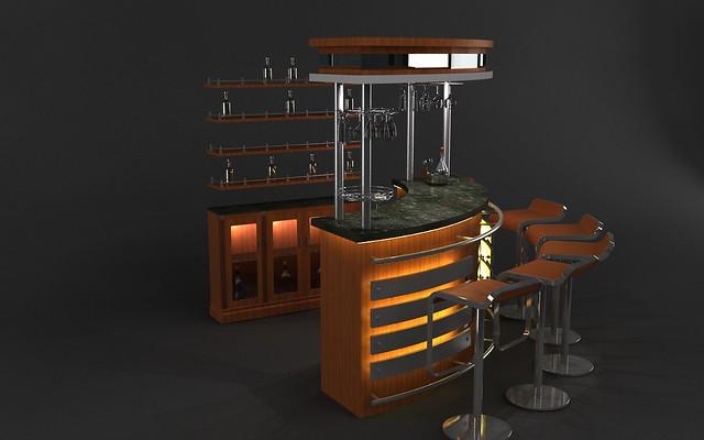 Bar Counter Design - Home Design Ideas