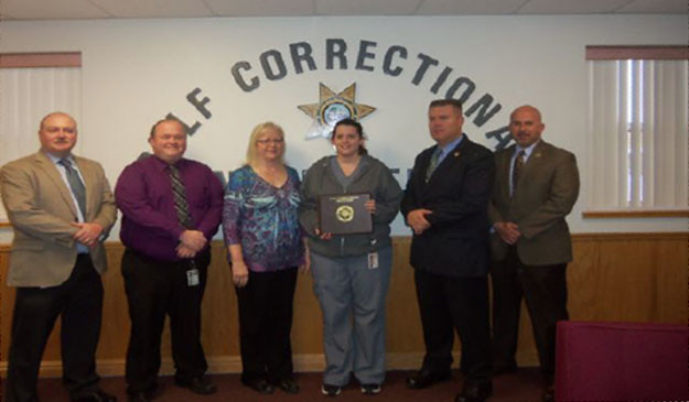 Robyn Turner: Corizon medical assistant awarded employee of the month