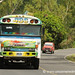 The Bus on the Highway - Perquin, El Salvador