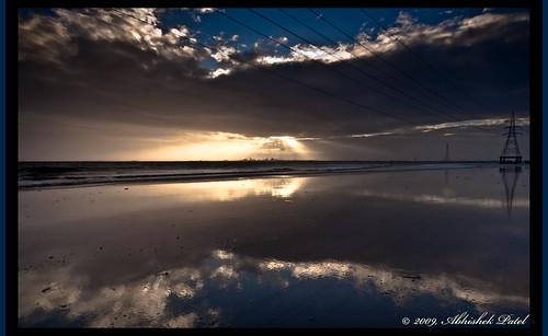 urban india storm beach beautiful lines dumas reflections nikon anp power wide sigma 1020 ultra abhishek thunder patel outskirts gujarat surat d40 bhimpore abhva